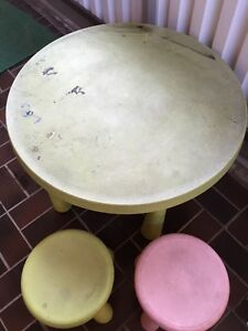 IKEA table and couple of stools Oatley Hurstville Area Preview