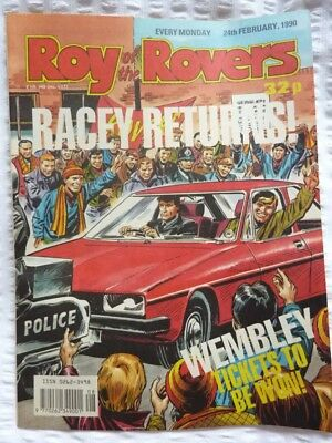 Roy of the Rovers Comic 24 02 1990 Exc