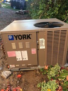 York gas fired Central Furnace and A/C unit