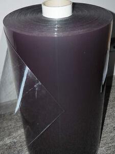 PVC Folie glasklar 1 mm, Cabrio, Garden fenster, 1,40 breite transparent