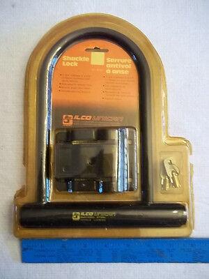 U Lock Shackle Bike Lock With Keys Ilco New In Package