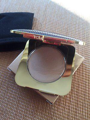 Black Powder Finish (New Tom Ford Nightbloom Powder Black Bloom golden shimmer finish sparkling 7.9 g)