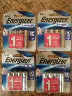 8 x 2  ENERGIZER  ULTIMATE LITHIUM AA Battery  16 BATTERIES  NEW  Exp 2036+ for sale  The Lakes
