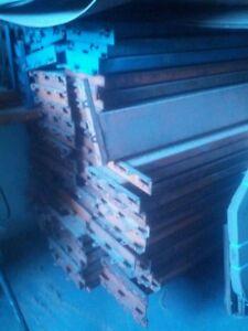 Heavy duty industrial cross beams