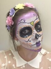 Kids party services - face paint and activities Herston Brisbane North East Preview
