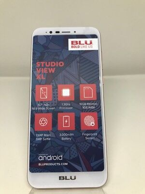BLU Studio In consideration of XL Unlocked Android V 7.0 GSM Dual-SIM 5.7'' Phone CHAMPAGNE