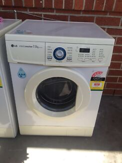 4.5 STAR great working 7.5kg LG ront good size washing machine, c