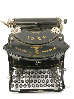MAQUINA DE ESCRIBIR ADLER Mod.15 AÑO 1919 TYPEWRITER SCRHEIBMASCNINE
