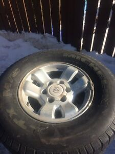 4 runner rims and tires 265/70/16