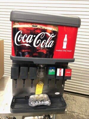 New 6 Valve Flavor Head Soda Fountain Ice Dispenser Bin Cornelius Df150 3413