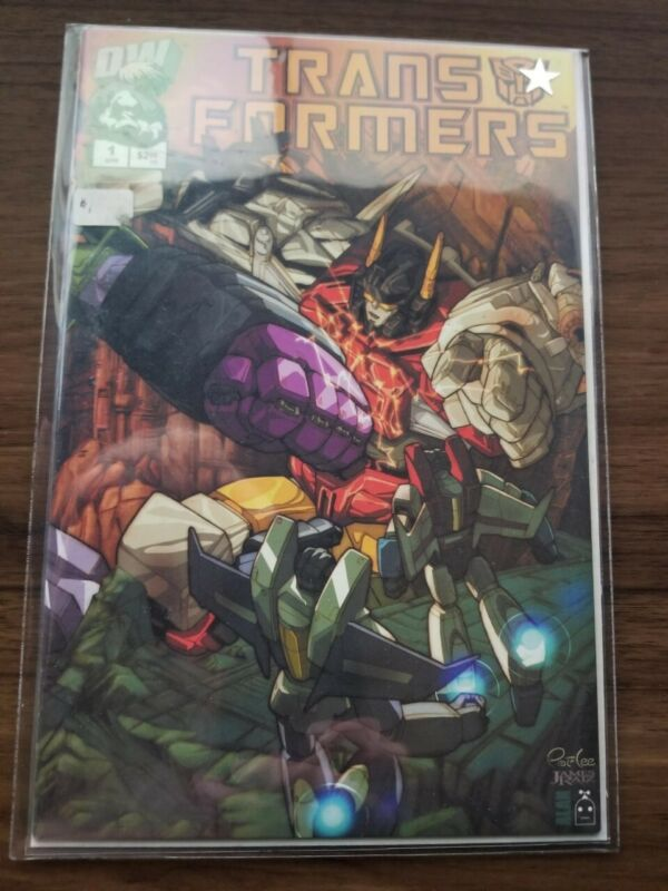 2002 Dreamwave DW Transformers  #1 Retailer Incentive Edition and holofoil