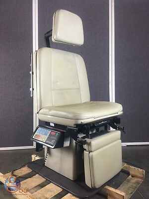 Midmark Ritter 411 Power Programmable Procedure Table W New Upholstery Top