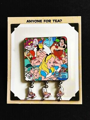 Alice In Wonderland For Baby (Disney Alice In Wonderland Anyone for Tea Baby Oysters Pin Artist Signed)