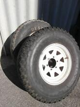 Other 4x4 wheels and rims x2 10 r15 desert duelers Rivervale Belmont Area Preview