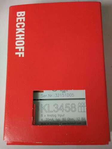 1pc New   Beckhoff Kl3458