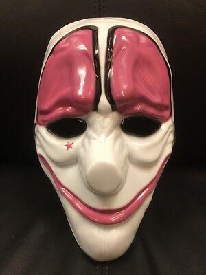 UK Hoxton Payday 2 The Heist Erwachsene Maske Kostüm Verkleidung Halloween