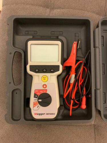 Megger MIT400/2 Megger industrial Insulation and Continuity Tester