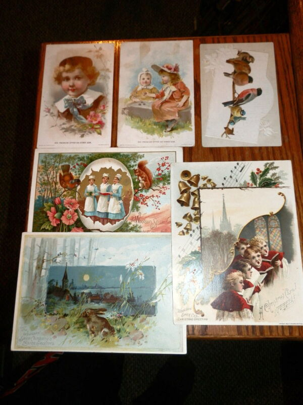 #9405,Estate Collection Victorian Trade Cds-Lion Coffee