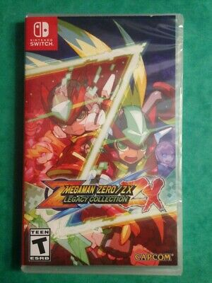 Megaman Zero / ZX Legacy Collection - Switch - NEUF SOUS BLISTER