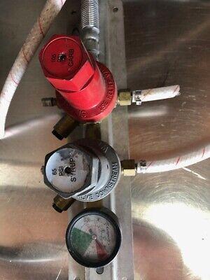 Co2 Pressure Regulator Soda Bib Syrup System Bottle Valve Cornelius 3262