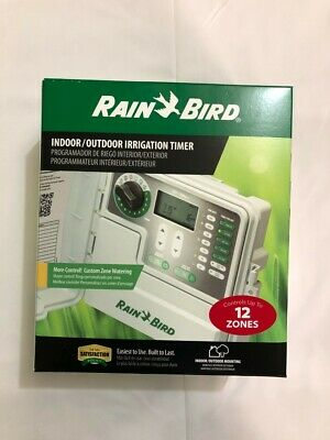 Rain Bird SST1200OUT Simple-to-Set Indoor/Outdoor Sprinkler/Irrigation Timer