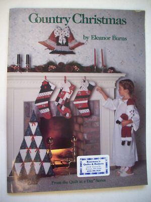 cor stockings ornaments pattern Eleanor Burns  (Country Christmas Stockings)