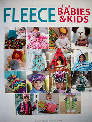 20 Fleece Projects To Make For Babies & Kids  Little Or No Sewing  Leisure - Art Projects For Babies