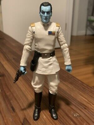 Star Wars Black Series Grand Admiral Thrawn 6-inch, Loose and Complete!