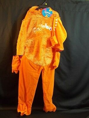 Boohbah Costumes (Boohbah ZING Zingbah UNISEX CHILD SIZE 2-4 HALLOWEEN COSTUME NEW NWT)