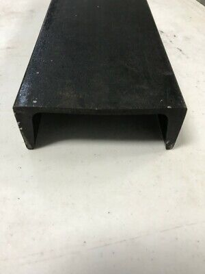 2pc 4 Inch Steel Channel Iron 12 Inches Long 5.4 Lbs Per Ft Weldable