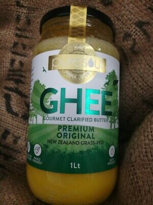 GHEE PREMIUM FROM NEW ZEALAND 1 LITRE - FREE POST (PACKED IN AUSTRALIA)
