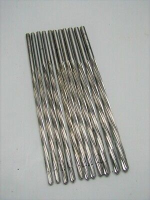 11 Piloted Chucking Reamers Straight Shank Spiral 6 Flute Aircraft Tools
