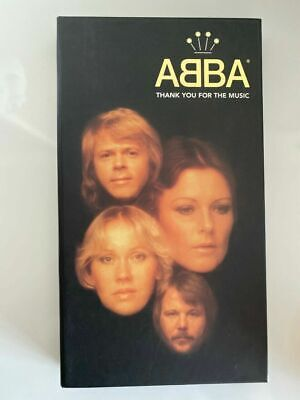 ABBA - Thank You For The Music 4 CD Box with booklet 1994