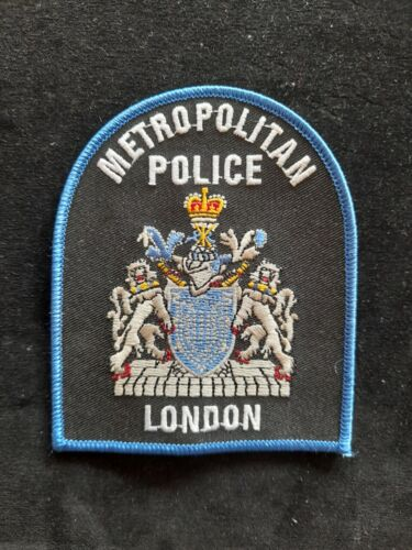 METROPOLITAN POLICE LONDON  ENGLAND .PATCH  UNOFFICIAL, PROMOTIONAL, SOUVENIER