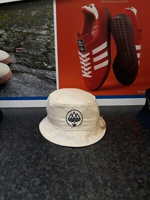 adidas spezial bucket hat london dublin blackburn EMBROIDERED natural one size