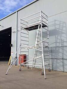 5.0m Aluminium Scaffold Alloy mobile tower Double Width Dandenong South Greater Dandenong Preview