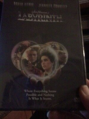 Labyrinth (DVD, 1999, Subtitled Spanish)Brand New  David Bowie - Labyrinthe Halloween