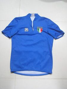 Vintage-Santini-Italy-Italia-national-team-cycling-jersey
