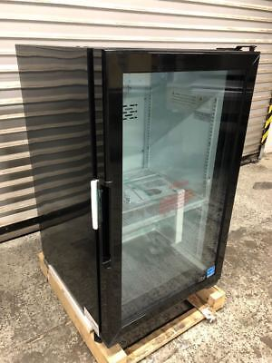 New Glass Door Counter Top Drink Display Cooler Refrigerator Led Idw G-7f 9245