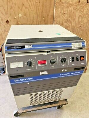 BECKMAN MODEL GS-6KR CENTRIFUGE WITH ROTOR AND BUCKETS