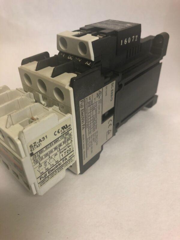 FUJI ELECTRIC CONTACTOR SC-E03/G WITH SZ-Z1 SZ-A31 NEW