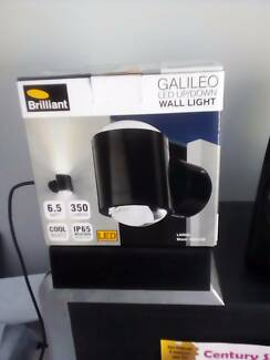 BRILLIANT Wall Light GALILEO large Black 19805/06