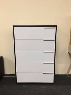 Brand New 5 Drawers Tallboy/Cabinet/Chest Drawers