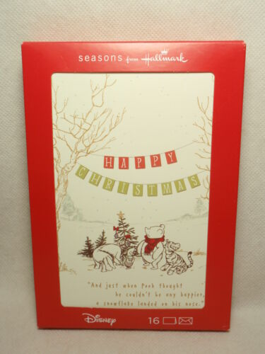 Hallmark Disney Winnie the Pooh Christmas Cards