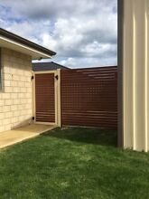 Aluminium Slat Fencing, Louvres, Gates South Perth South Perth Area Preview