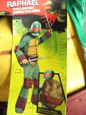 NWT Boys Teenage Mutant Ninja Turtles RAPHAEL LG - Ninja Turtle Raphael Maske