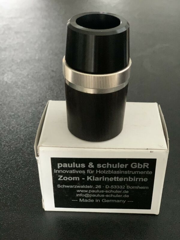 Paulus & Schuler GbR Zoom Clarinet Barrell 64mm Buffet Rc.
