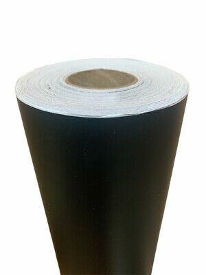 1 Roll Black Matte Vinyl 12 X 50 Yards  150 Feet  Great Deal Liquidation