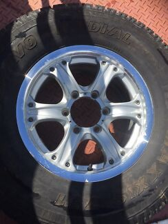 Hilux 4x4 rims and tyres Cardup Serpentine Area Preview