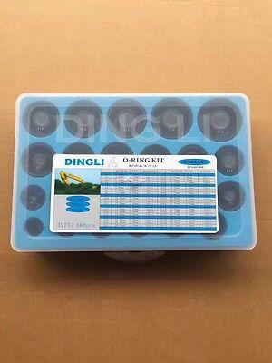 Ding Li O-ring Box 666 Pcs Fits Doosan Dh55 Dh130 Dh220 Dh300 Dh225